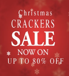 2018 Christmas Crackers - Up To 80% OFF