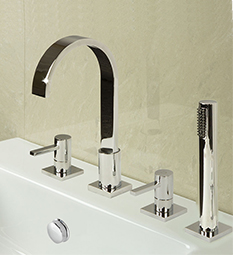 4 Hole Bath Shower Taps