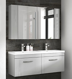 Athena Furniture - Gloss Grey Mist