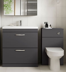 Athena Furniture - Gloss Grey