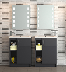 Apollo Grey Gloss Furniture