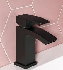 Chelsea Bathroom Tap Range - Matt Black