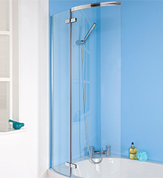 Ella Curved P-Bath Screen