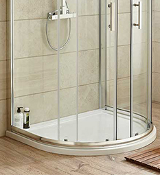 D Shape Shower Trays