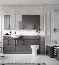 Gloss Grey Combination Furniture