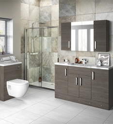 Grey Avola Fitted Suite
