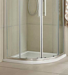 Quadrant Shower Trays - White