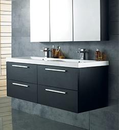 Quartet Black & Graphite Furniture