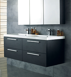 Quartet Black & Graphite Furniture