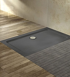 Rectangular Shower Trays - Slate Grey