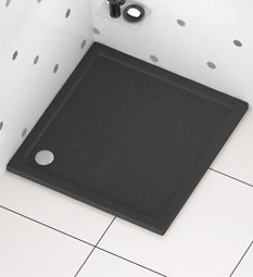 Square Shower Trays - Slate Grey
