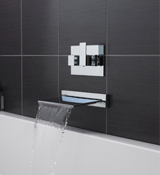 Wall Mounted Bath Taps
