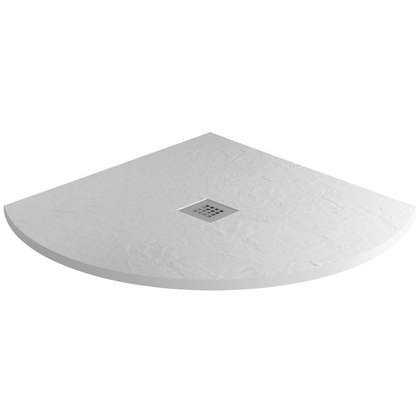 SALE - Mineral Slate 800mm Quadrant Low Profile Shower Tray Grid ...