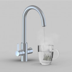 Soho 4 in 1 Instant Hot Water Kitchen Tap & Filter Main 1