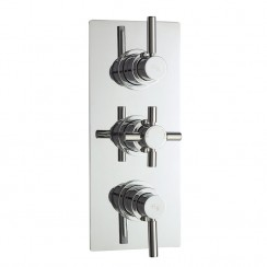 Tec Pura Triple Concealed Thermostatic Shower Valve