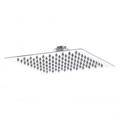 Hudson Reed Square Fixed Slim Shower Head 200mm