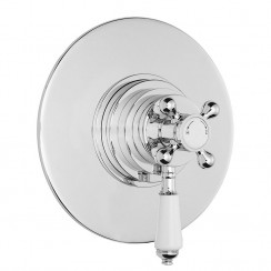 Victorian Dual Thermostatic Concealed Shower Valve