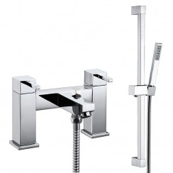 Madena Bath Shower Mixer Tap & Rail Kit