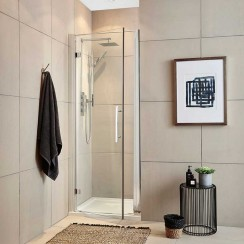 Apex 700mm Shower Enclosure Hinged Door