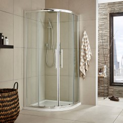 Apex 1000mm Quadrant Shower Enclosure