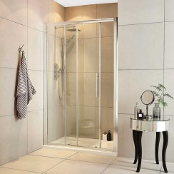 Apex 1000mm Shower Enclosure Sliding Door