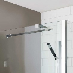 Universal Shower Enclosure Stabilising Bar