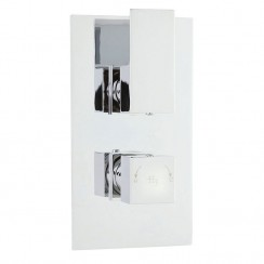 Hudson Reed  Art Twin Thermostatic Concealed Shower Valve With Diverter