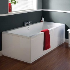 Asselby Square Double Ended Bath (1700mm x 750mm)