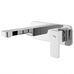 Astra Wall Mounted Single Lever Basin Mixer Tap