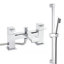 Blake Bath Shower Mixer Tap & Rail Kit