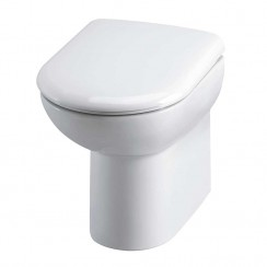 Comfort Height Back To Wall Pan & Soft Close Seat