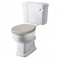 Richmond Close Coupled Comfort Height Pan & Cistern