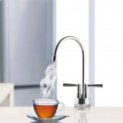 Chrome Milan 2 in 1 Instant Hot Water Kitchen Tap & Filter