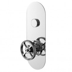 Industrial One Outlet Push Button Shower Valve