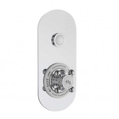 Traditional One Outlet Push Button Shower Valve