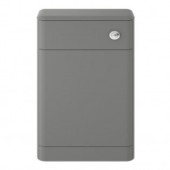 Solar Cool Grey 550mm Floor Standing WC Unit