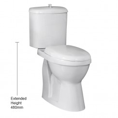 Single Flush Comfort Height Pan & Cistern