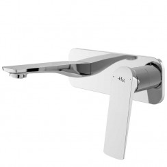 Drift Wall Mounted Single Lever Basin Mixer or Bath Filler Tap