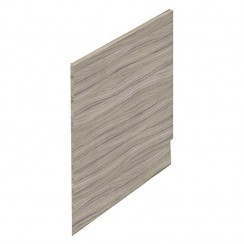 Driftwood MDF 700mm Shower Bath End Panel