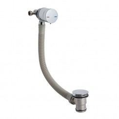 Chrome Single Lever Freeflow Bath Filler