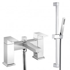Eden Bath Shower Mixer Tap & Rail Kit