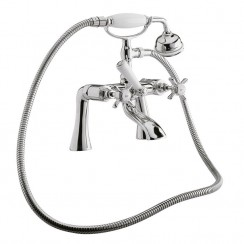 Westminster Bath Shower Mixer Tap, Straight Legs