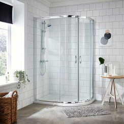 Ella 1200 x 900mm Offset Quadrant Shower Enclosure