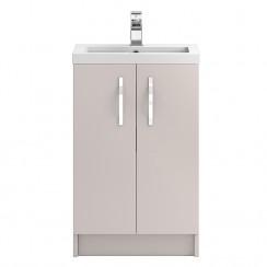 Apollo Cashmere Floor Standing 500mm Vanity Cabinet & Basin