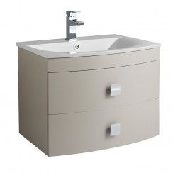 Sarenna Cashmere 700mm Vanity Cabinet & Basin Wall Hung Bathroom Furniture