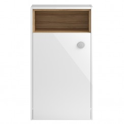 Coast White Gloss 600mm Open Shelf WC Unit