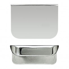 Chrome Small Rear Fixed 50 x 37 x 21mm Handle (supplied as standard)