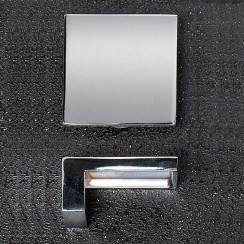 Chrome Square 50 x 23mm Handle