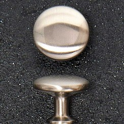 Satin Nickel Knob 28mm Diameter