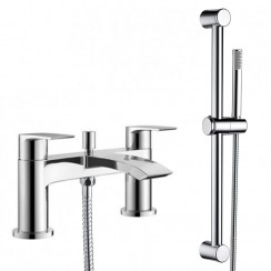 Hatton Bath Shower Mixer Tap & Rail Kit